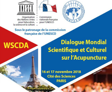 Dialogue Mondial Scientifique et Culturel sur l'Acupuncture Alexandra Dupuy
